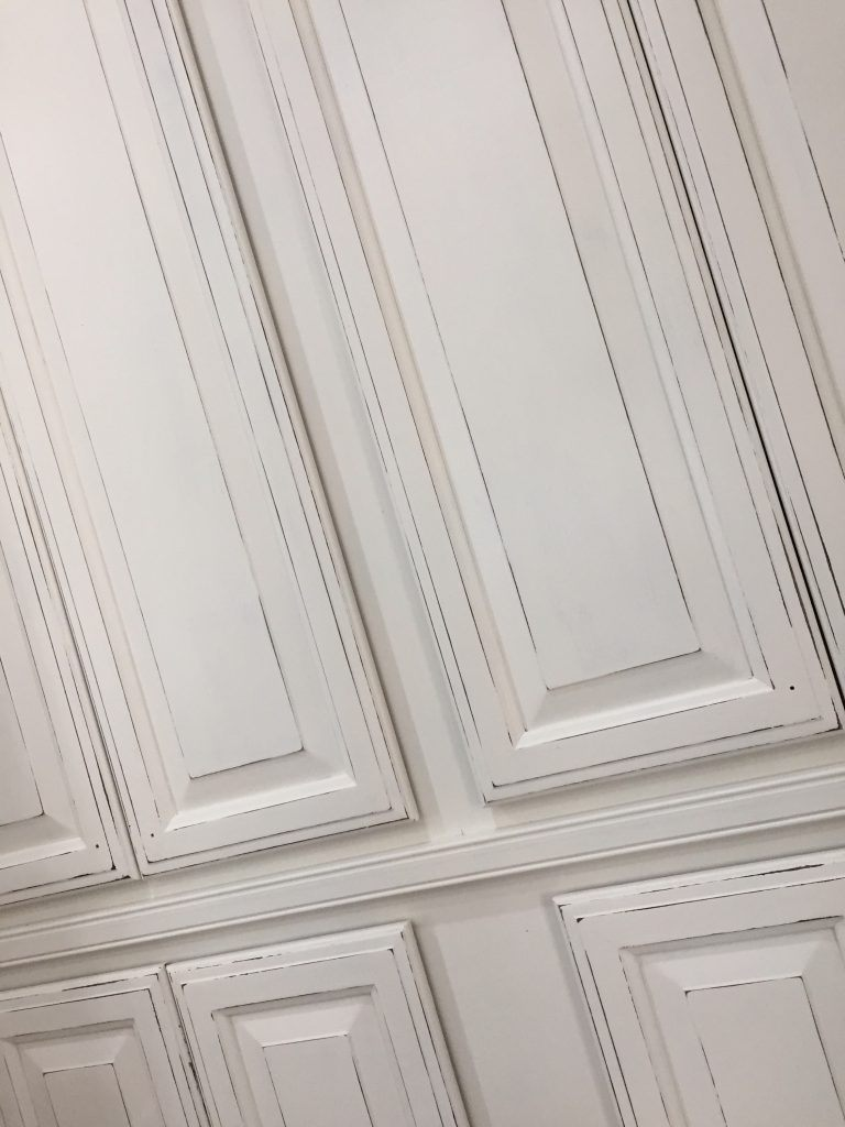 Distressed Painted Cabinet Doors