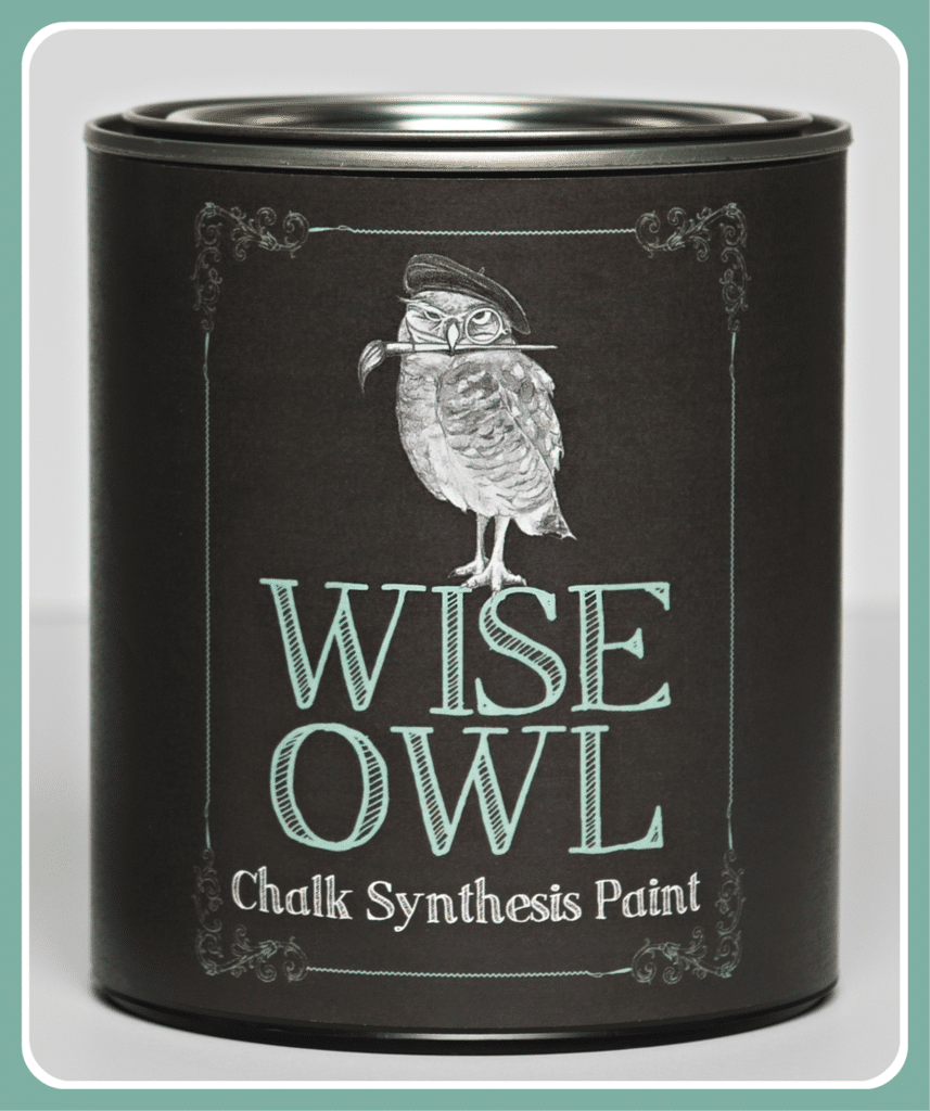 Wise Owl chalk paint for furniture